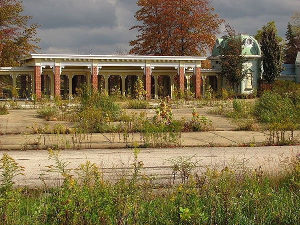 Photos of Abandoned Geauga Lake Amusement Park