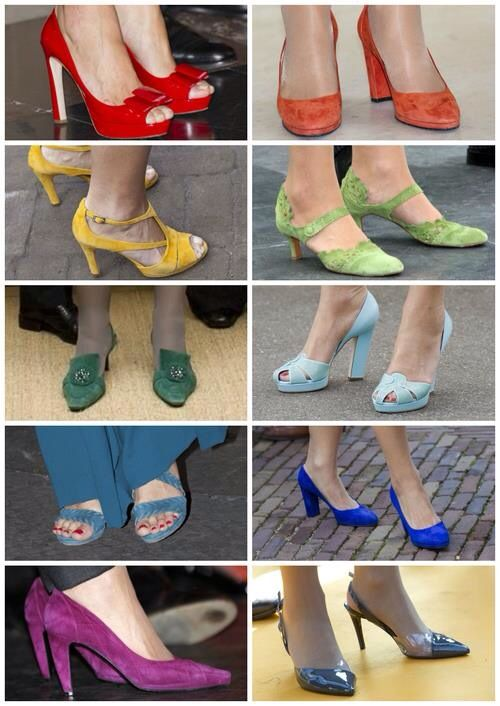 Schoenen van Maxima