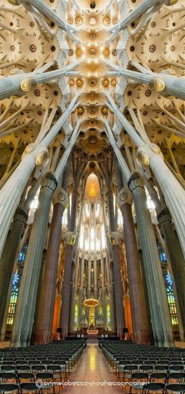 La Sagrada Familia, Barcelona, Spain - Antoni, Gaudi, UNESCO Patrimonio de la Humanidad by Carmelo Battaglia