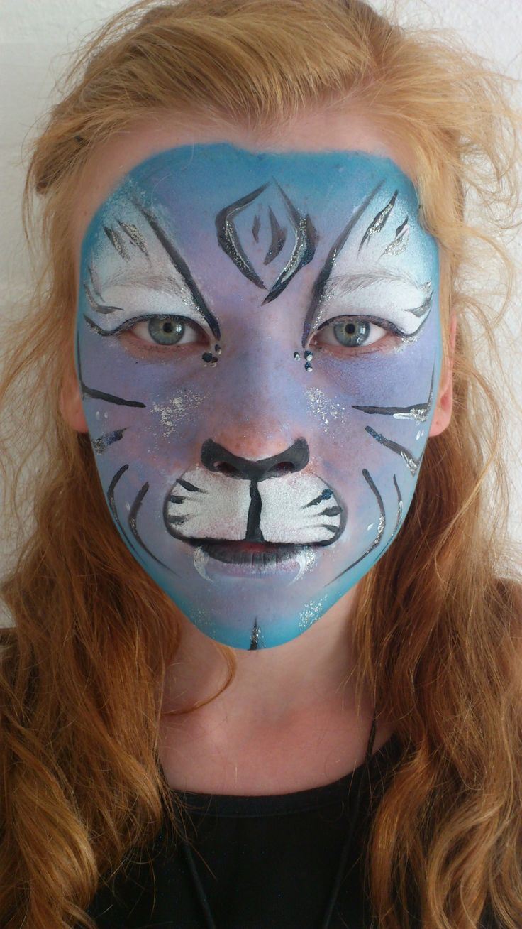 My pretty blue/purple tiger<3