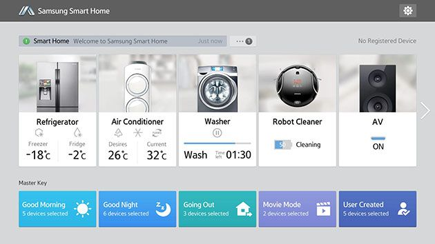 2014.4.2 | Samsung's Smart Home service ready to control new wave of TVs and appliances