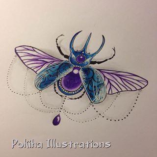jewel bug tattoo - Google Search
