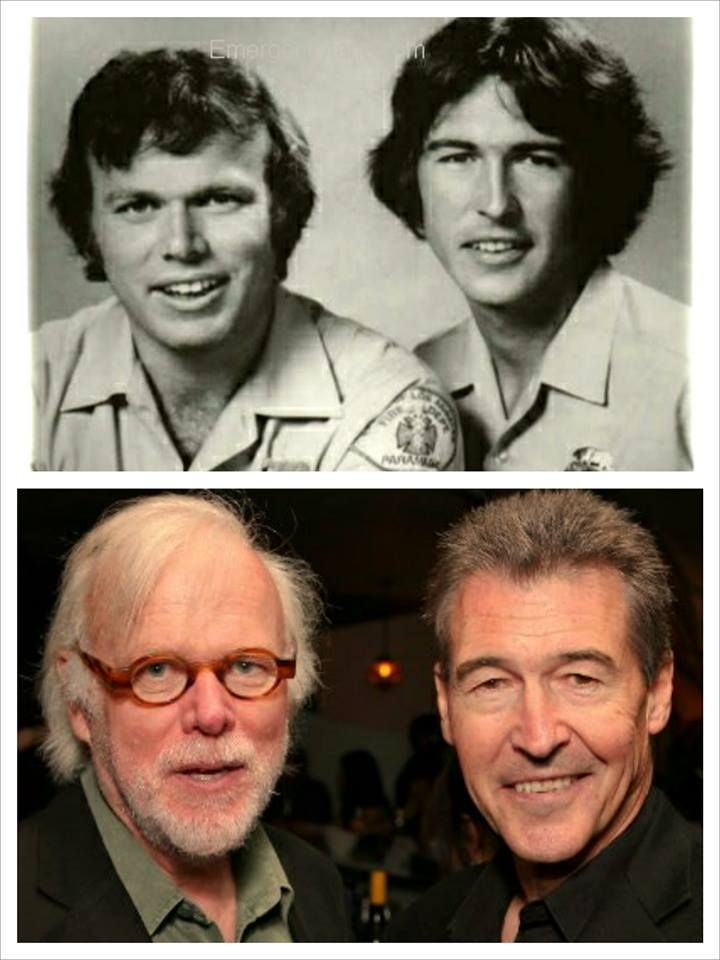 "TV Show: Emergency Kevin Tighe & Randolph (Randy) Mantooth  ""Roy & Johnny""  THEN AND NOW"