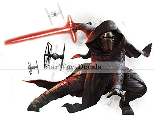 12″ Star Wars VII Force Awakens Kylo Ren Removable Wall Decal Sticker Decor Art