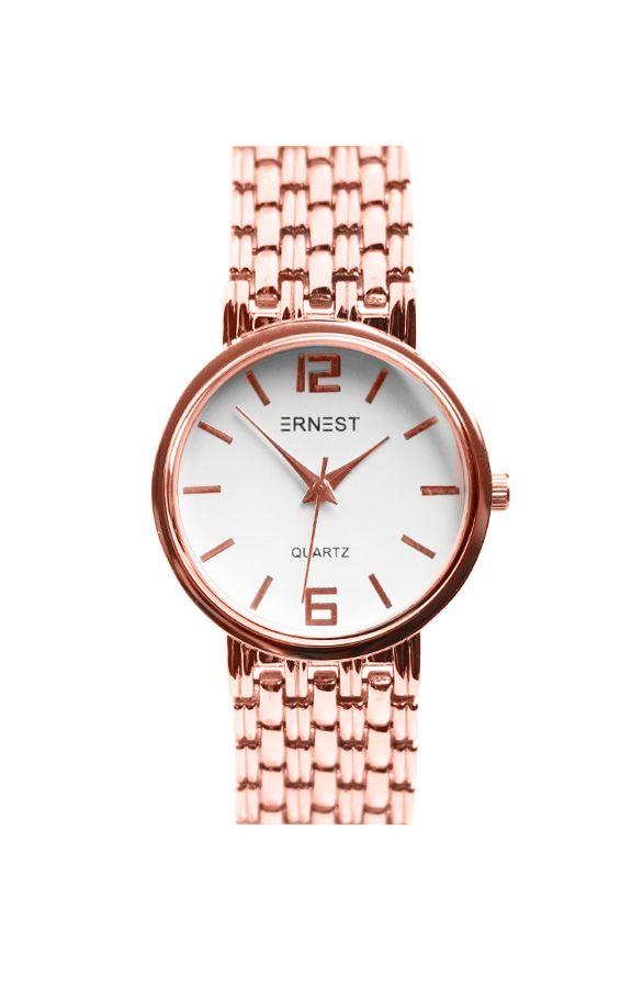 Musthave Watch Rose | The Musthaves Een stainless steel dameshorloge shop je via TheMusthaves.nl Rosé, goud en zilveren horloges voor een lage prijs!