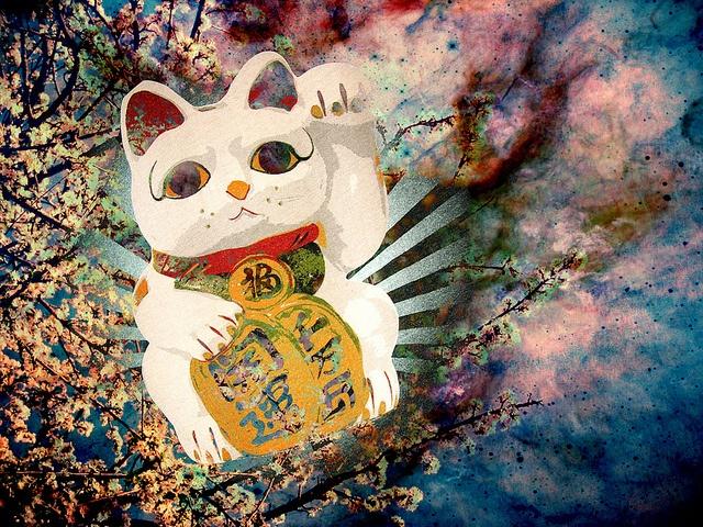 maneki neko by atemporal ♫, via Flickr