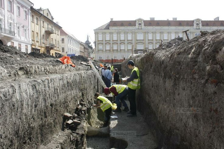 Descoperire extraordinara in centrul Timisoarei: vestigii preistorice in Piata Unirii