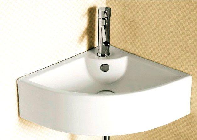 Corner Sink For Bathrooms A Few Tips Space Saving Ideas Pinterest Bathroom Basins And