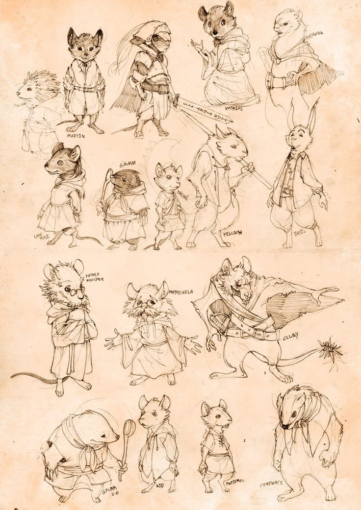 Image detail for -redwall sketchdump by ~chichapie on deviantART