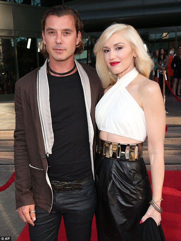 Calling it quits: Gwen filed for divorce from Gavin last month after 13 years of marriage....