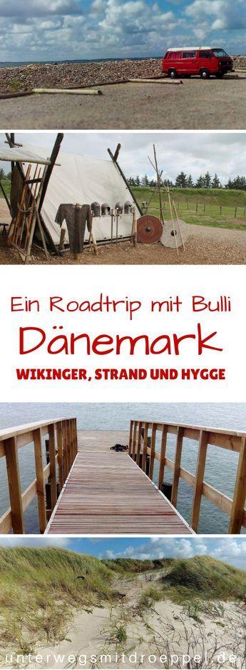 ein #Roadtrip mit dem #Bulli durch #Dänemark - eine #Reise zwischen #Nordsee und #Ostsee, mit #Hygge, Hotdogs und #Camping in den Dünen