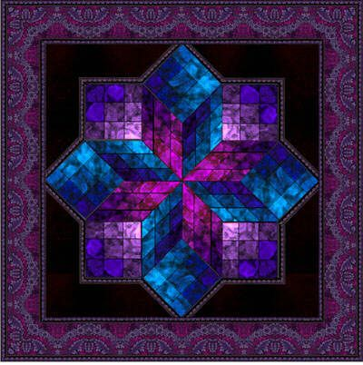 301 Best Images About Stained Glass Quilt On Pinterest