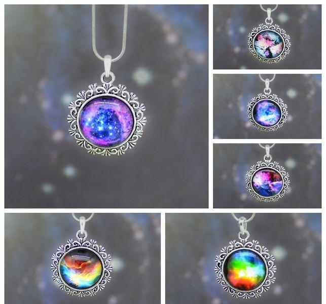 Collana galassia di Gioielli fatati su DaWanda.com