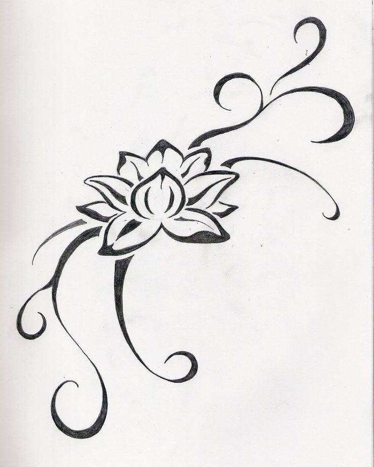 small lotus flower tattoo | Jane Tattoo Gallery: flower tattoo by June Fowler