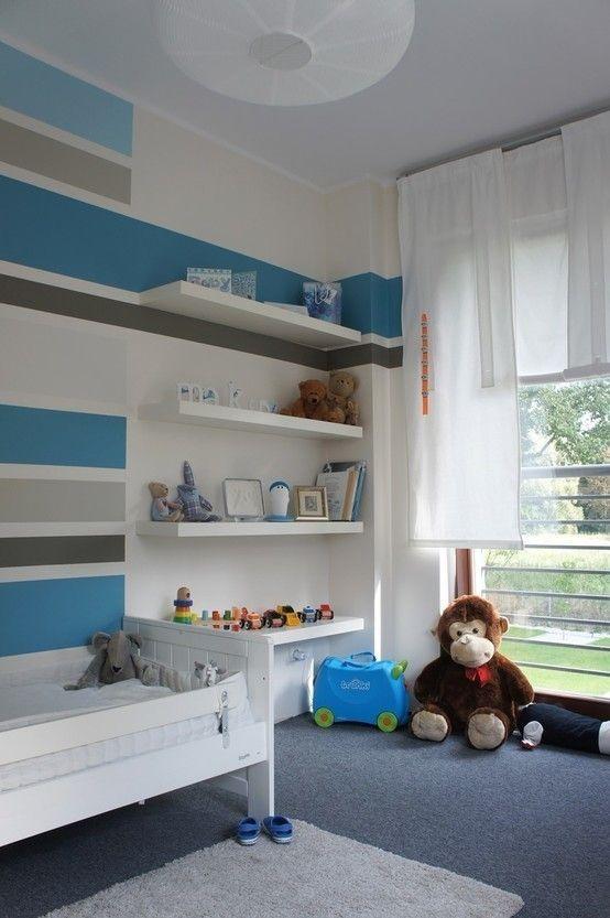 pokoje dziecięce : Modernistyczny pokój dziecięcy od abostudio
