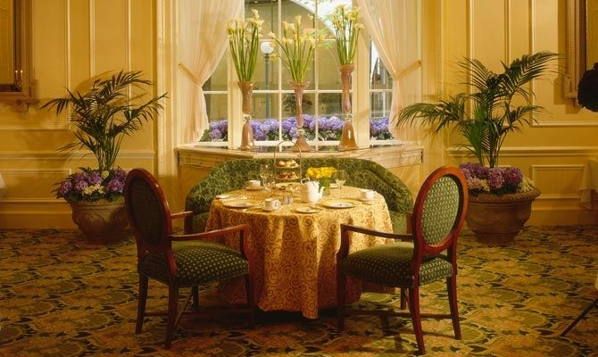 Have Afternoon Tea at the Fairmount Olympic Hotel