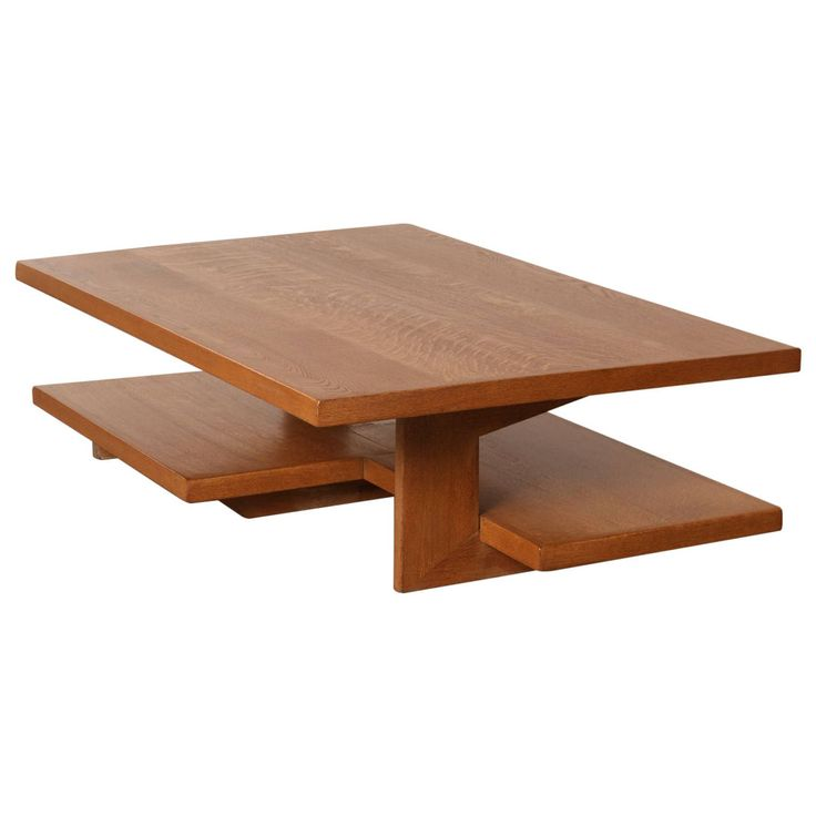 Neutra, Frank Lloyd Wright Style Architects Coffee Table | From a unique collection of antique and modern coffee and cocktail tables at https://www.1stdibs.com/furniture/tables/coffee-tables-cocktail-tables/