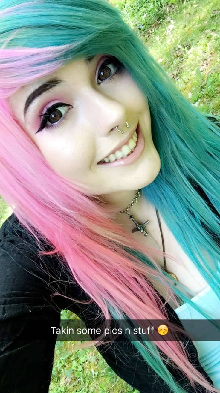 Leda Muir — Snapchat: theledabunny | Cute emo girls, Emo