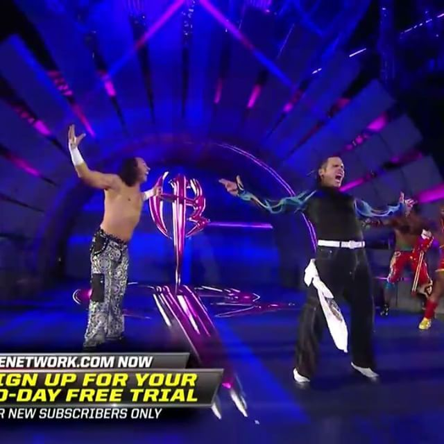 I still can't believe that the Hardy Boys are back in @WWE !!! #MemoriesOfWrestleMania #WrestleMania33 #WrestleMania #JeffHardy #MattHardy #Sheamus #Cesaro #TheClub #BullettClub #Lukegallows #karlanderson #HardyBoys #BrotherNero #Brokenmatthardy #Obsolete #Delete #TNA #WWE #worldwrestlingentertainment #WWF #attitudeera #ruthlessaggressionera #PGera #ModernEra #GoldenEra #NewEra #MainEvent #RAW #SmackDown #Wrestling