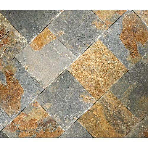 Bathroom Tiles Rona : Quot rustic slate floor tiles rona for front and back