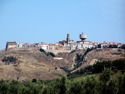 San Martino in Pensilis , Italy. I'd love to visit my family that still lives there