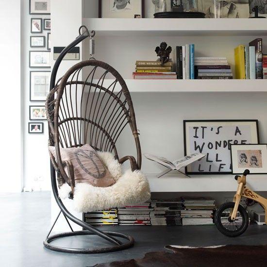 Heerlijke stoel om je bij je mooie spullen in terug te trekken.