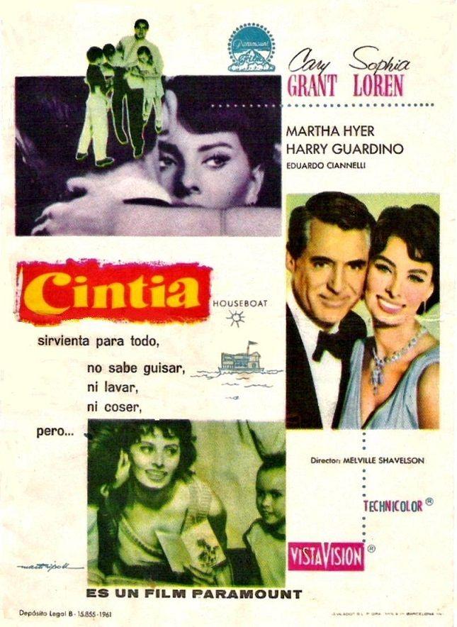"""Cintia (1958) """"Houseboat"""" de Melville Shavelson - tt0051745"""