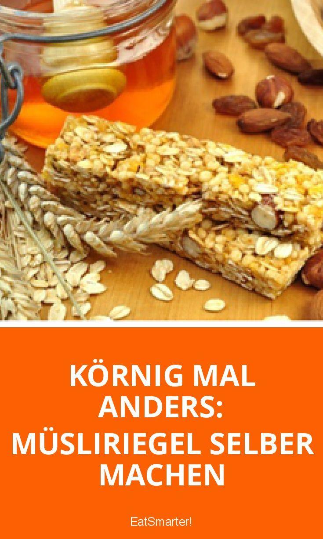 Körnig mal anders: Müsliriegel selber machen | eatsmarter.de