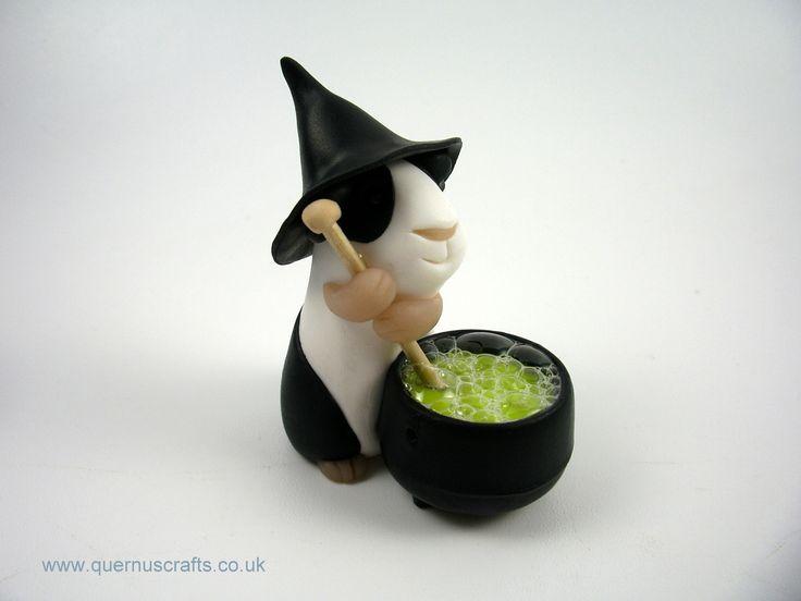 Little Witchy Cauldron Guinea Pig