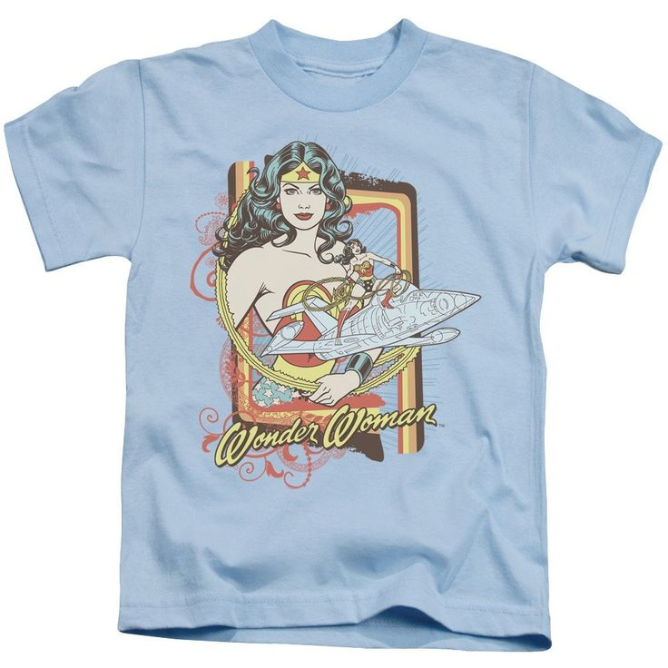 Dc - Invisible Jet Kids T-Shirt