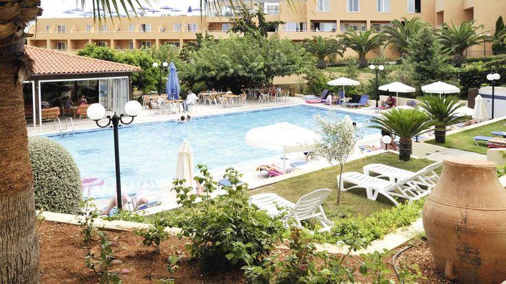 £307 - Sylvia Hotel/Apts, Heraklion Crete  500m to town, 800m to beach, nice rooms and social areas.