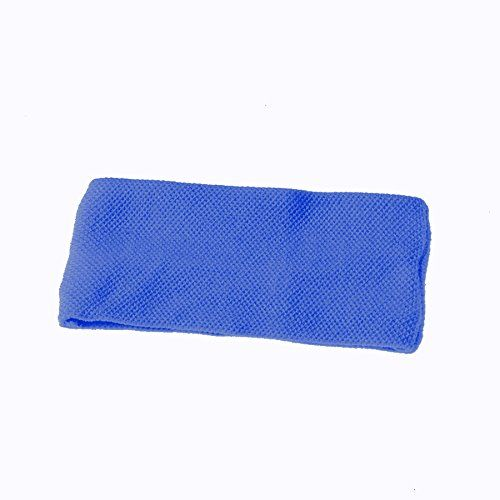 Dozen Blue Stretchy Headbands Sweatbands >>> Read more info by clicking the link on the image. #Headbands