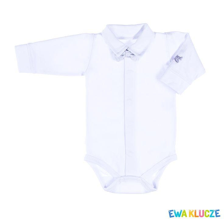 EWA KLUCZE, kolekcja ELEGANT, chrzest, body dla chłopczyka, ubranka dla dzieci, EWA KLUCZE, ELEGANT collection, baby boy bodysuit, baby clothes