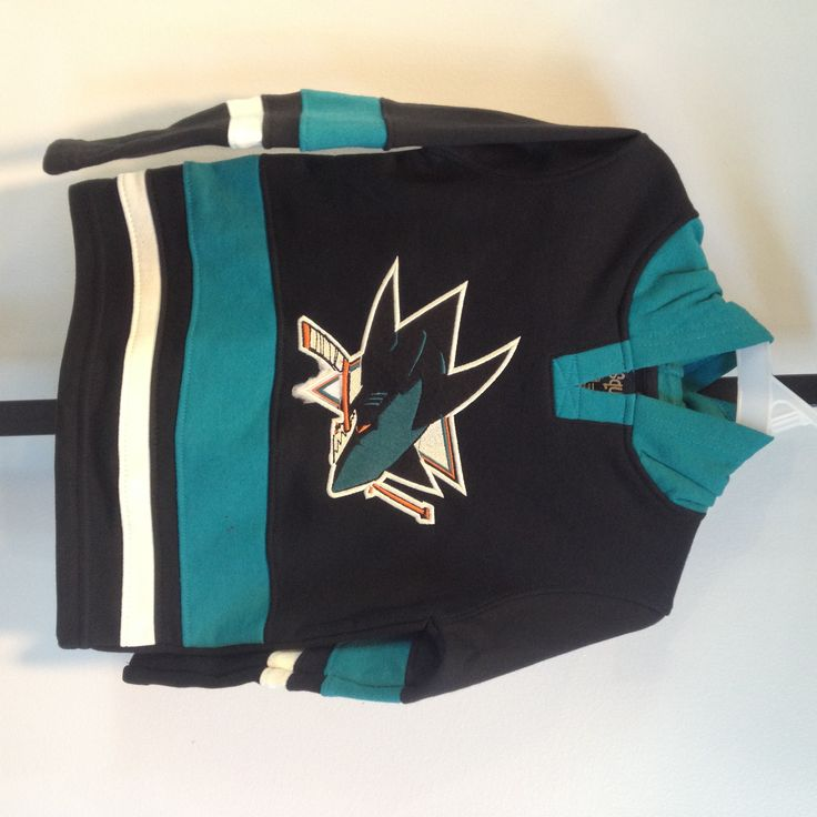 Boys' glider LS (2T-7) - $40-45 Available at the Sharks Store at SAP Center. Call to order: 408-999-6810