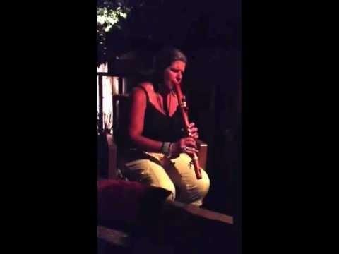 Debra Delahunty in the zone beautiful Flute