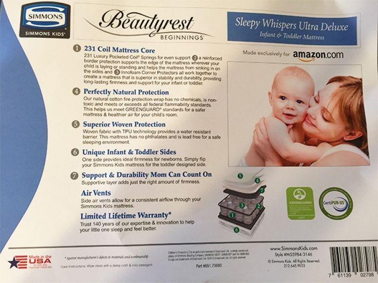 Simmons Beautyrest Beginnings Crib Mattress