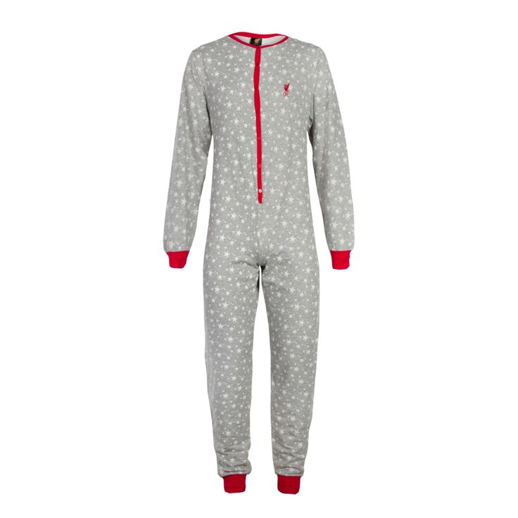 LFC Ladies Grey Onesie | Gifts | Liverpool FC Official Store