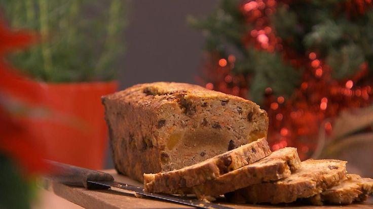 Vruchtenbrood met amandelen ( glutenvrij)