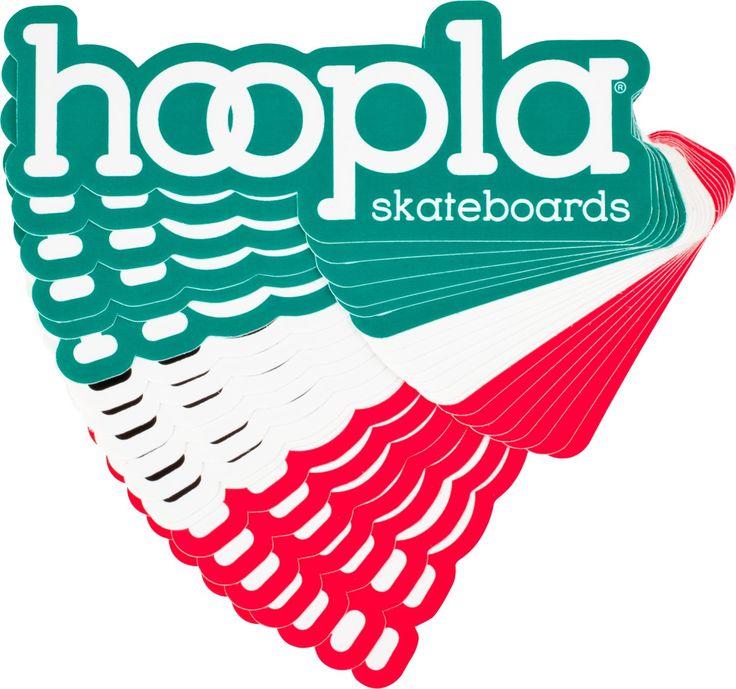 """hoopla Asstd 3"""" Sticker single Hoopla, Single, Stickers"""