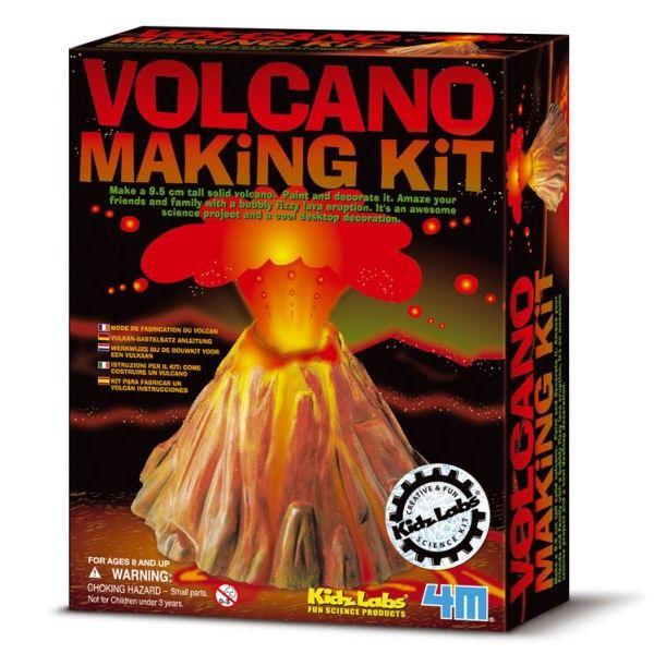 4M KidzLab: giet-en-verf-een-vulkaan