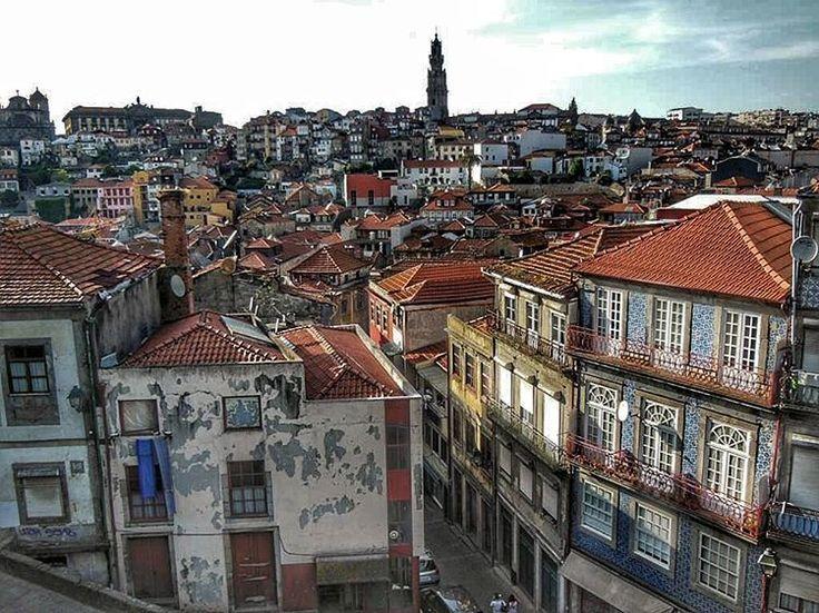 Landscape of #Porto (#Portugal)  http://bit.ly/1YumHsK