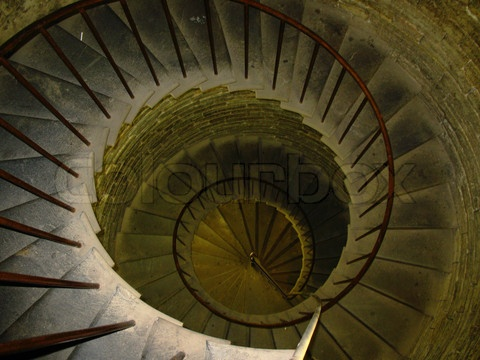 Best Stock Image Of Old Spiral Spin Stair In In Ancient Tower 400 x 300
