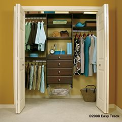 19 best images about closet organizers on pinterest closet organization walk in closet and. Black Bedroom Furniture Sets. Home Design Ideas
