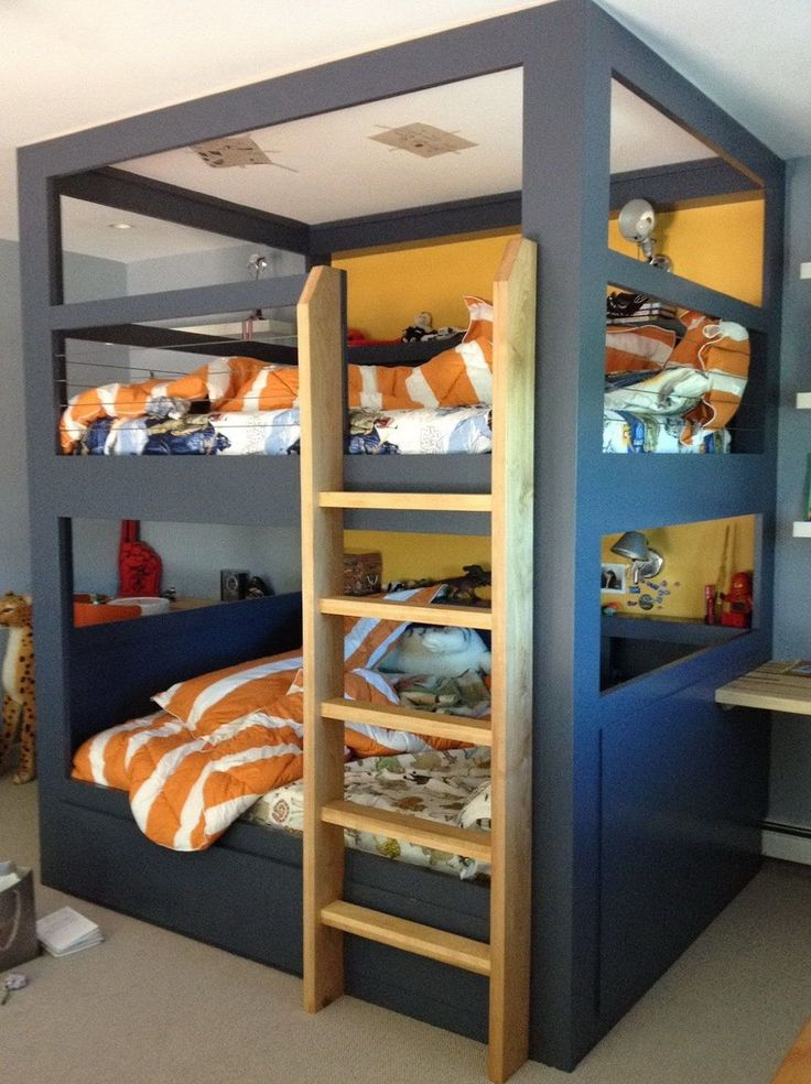 30 Cool Boys Bunk Beds - Bedroom Interior Design Ideas Check more at http://billiepiperfan.com/cool-boys-bunk-beds/