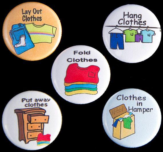 Aimants de corvée de vêtements/blanchisserie