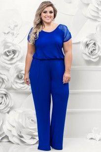 Macacão Bic Black Plus Size Mais Women Big Size Clothes - http://amzn.to/2ix7dK5