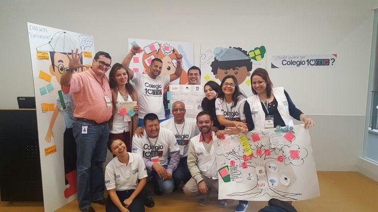 Zona sur actividades creatic  y perfil docentes #colegio10tic #valledelcauca #soygestoratic #cali