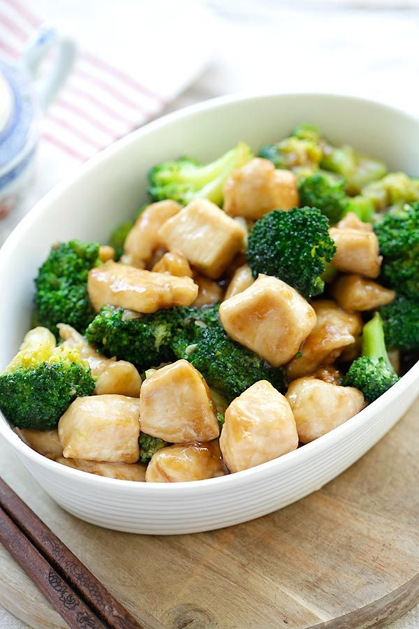 Broccoli Chicken - Learn how to make healthy homemade chicken stir-fry with broccoli in brown sauce. Best Chinese takeout recipe | rasamalaysia.com