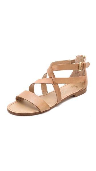 Cantina flat sandals.