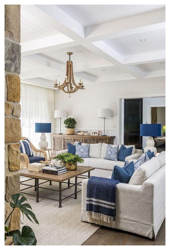 Coastal Living Room Furniture Navy Coastallivingroomfurniturenavy In 2021 Blue Living Room Decor Blue And White Living Room Coastal Living Room Furniture